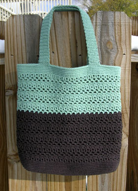 Espresso Sea Lacy V Bag